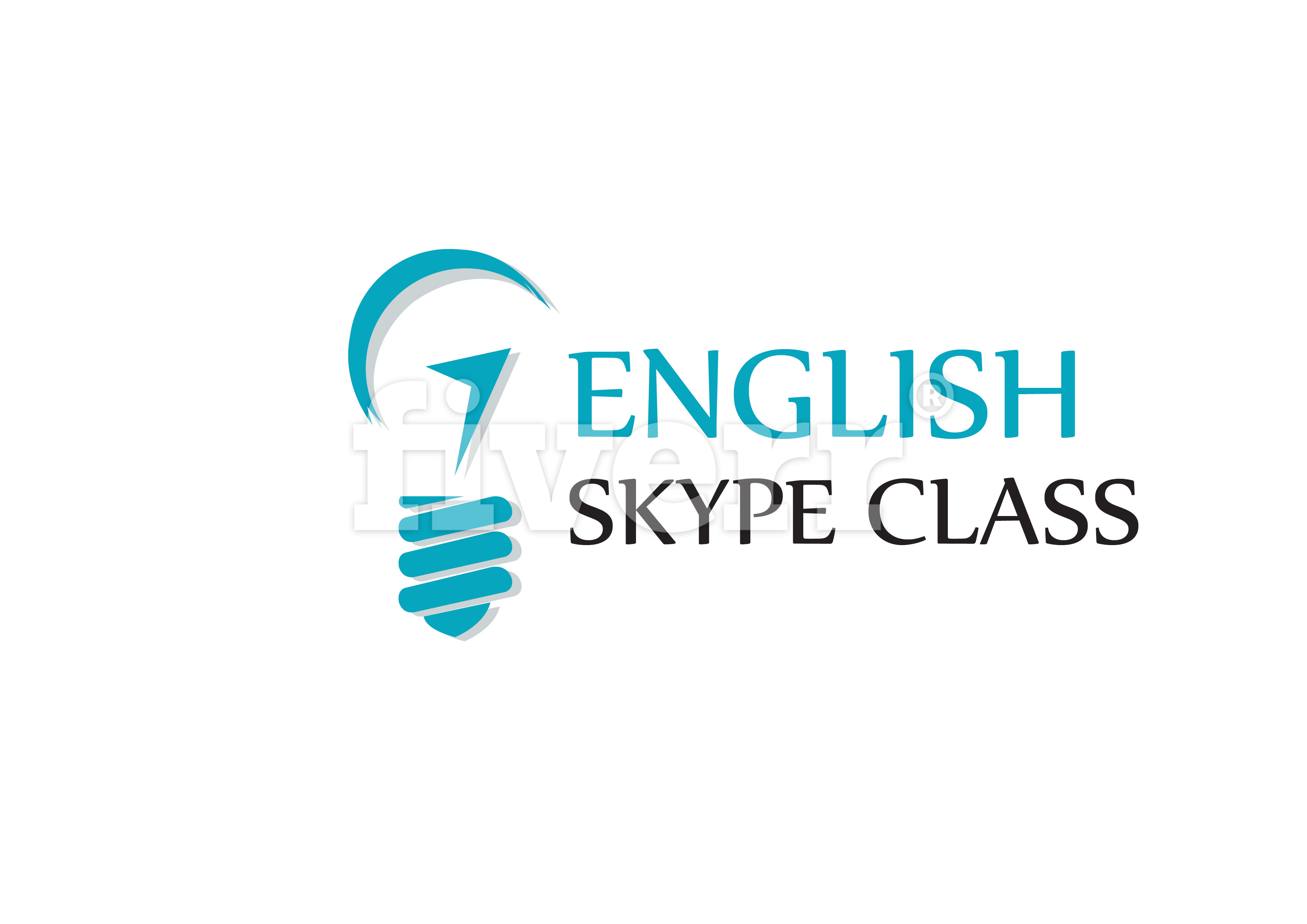 Английский по скайпу Logo